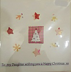 For You: To Daughter wishing Happy Christmas