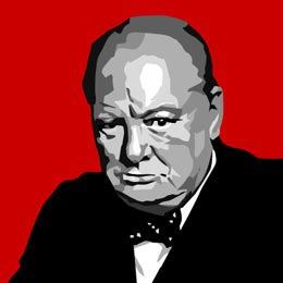 Big Art Icons: Winston Churchill