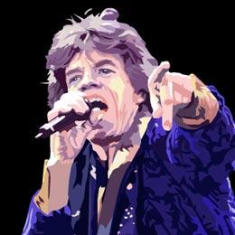 Big Art Icons: Mick Jagger