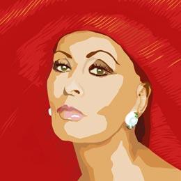 Big Art Icons: Sophia Loren