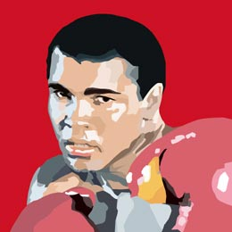 Big Art Icons: Mohamed Ali