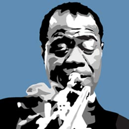 Big Art Icons: Louis Armstrong