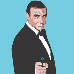 Big Art Icons: Sean Connery