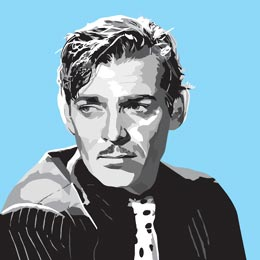 Big Art Icons: Clark Gable