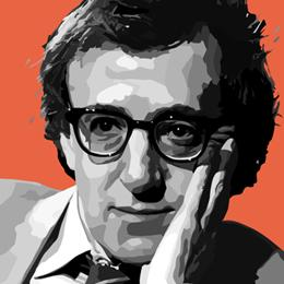 Big Art Icons: Woody Allen