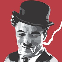 Big Art Icons: Charlie Chaplin