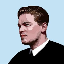 Big Art Icons: Leonardo Di Caprio