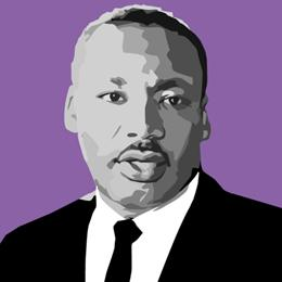 Big Art Icons: Martin Luther King