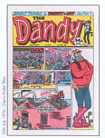 Comic Prints: The Dandy 1976 July