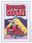 Comic Prints: Desparate Dan 1985