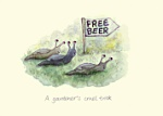 Celia Biscoe: Free Beer