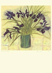 Jenny Devereaux: Irises and Tiles