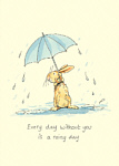 Anita Jeram: Every Day Without You Is A Rainy Day