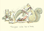 Anita Jeram: Tonight Will Be A Ball