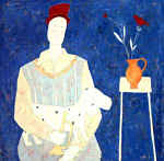 Anora Spence: Lady with a Red Hat
