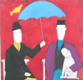Anora Spence: Under the Umbrella(red)