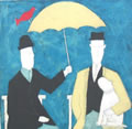 Anora Spence: Under the Umbrella(blue)